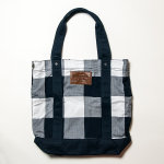 #A603367 | Abercrombie &amp; Fitch Women Plaid Canvas Tote Bag - SOLD OUT!